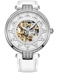 Burei Skeleton SL-15006-P01AY Automatic Watch, Affordable Ladies Automatic Watch