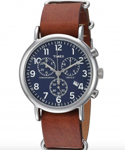 Timex Weekender Chronograph TW2R63200, Affordable Chronograph Watch