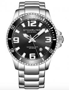 Stuhrling Original Aquadiver Regatta 395.33B11, Affordable Dive Watches