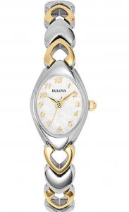 Bulova 98V02 Bracelet Dress Watch, Affordable Ladies' Dress Watch