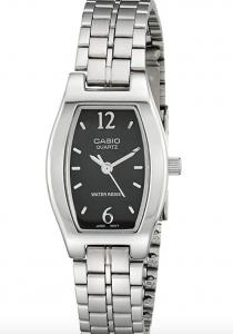 Casio LTP1254D-1A Bracelet Dress Watch, Affordable Ladies' Dress Watch