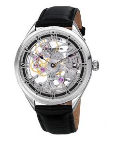 Akribos XXIV Mechanical Hand-Wound AK802SSB, Affordable Mechanical Watch