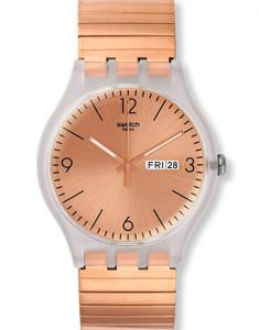 Swatch Originals Rostfrei SUOK707B Quartz Watch, Affordable Ladies' Quartz Watch