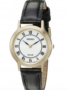 Seiko SUP304 Quartz Watch, Affordable Ladies' Quartz Watch