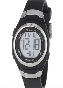 Armitron Digital Chronograph 45/7034 Sports Watch, Affordable Ladies' Sports Watch
