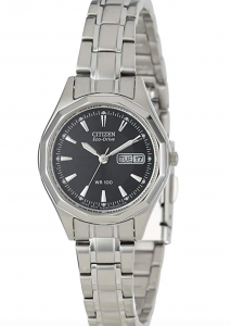 Citizen Eco-Drive EW3140-51E Stainless Steel Watch, Affordable Ladies Stainless Steel Watch