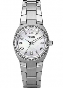 Fossil Serena AM4141 Stainless Steel Watch, Affordable Ladies' Stainless Steel Watch