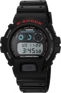 Casio G Shock Dw6900 1v Black Resin Sport Digital Watch, Digital Watches