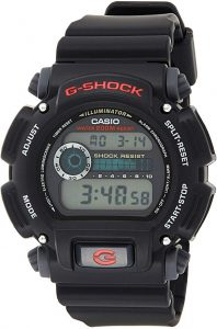 Casio Men's 'G-Shock' Quartz Resin Sport Watch, Affordable Digital Watches