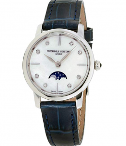 Frederique Constant Slimline Ladies Moonphase, Affordable Swiss Watches