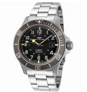 Glycine Combat Sub Automatic, Affordable Swiss Watches