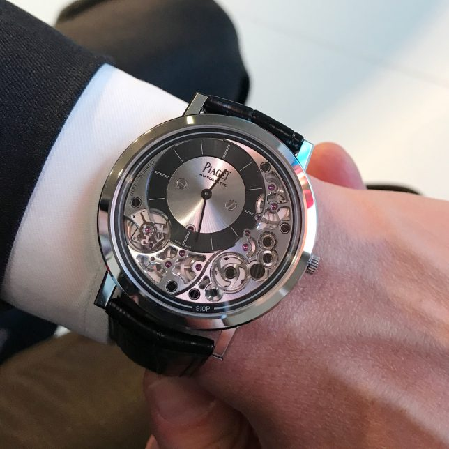 Piaget Altiplano Ultimate 910P, Thin Watches