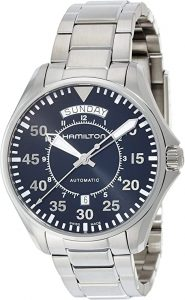 Hamilton Khaki Aviation Day Date Auto Watch (H64615135), Hamilton Watches