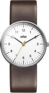 Braun Men's Classic Analog Japanese Quartz Watch (BN0021WHBRG)