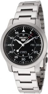 Seiko Men's Automatic Stainless Steel Watch (SNK809K)