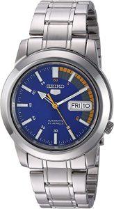 Seiko Men's Seiko 5 Stainless Steel Watch (SNKK27)