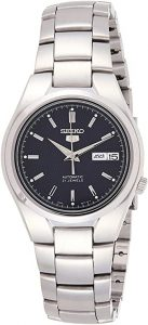 Seiko Men's Automatic Stainless Steel Watch (SNK603)