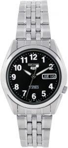 Seiko Men's Stainless Steel Analog Watch (SNK381K)