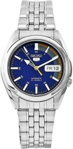 Seiko 5 Automatic Blue Dial Stainless Steel Men's Watch (SNK371K1)