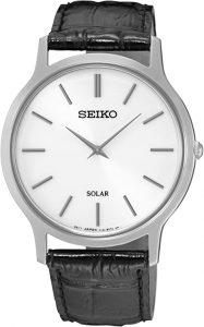 Seiko Men's Acciaio INOX Quartz Watch (Model: Solar Herren)