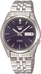 Seiko Men's Automatic Stainless Steel Dress Watch (SNK357)
