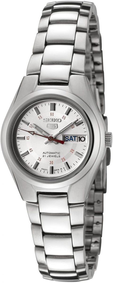 Seiko Women's Seiko 5 Automatic Stainless Steel Watch (SYMC21)